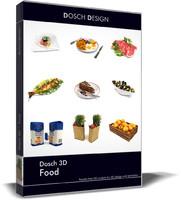 food 3d obj