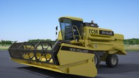 3d new holland tc56 model