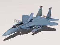 f-15c eagle f-15 3d model