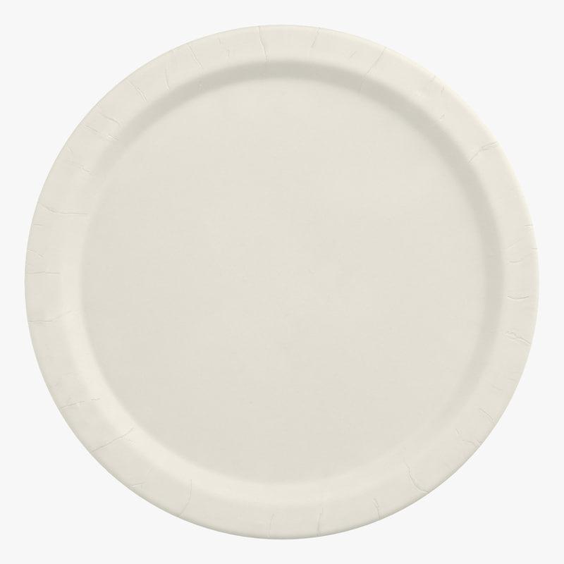 Paper Plate 3d model 00.jpg