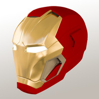 3d iron man mark 45