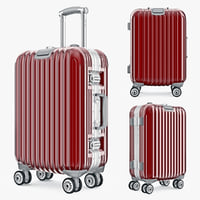3d bag luggage travel kingtrip