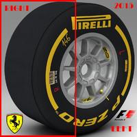 3ds pirelli tyre