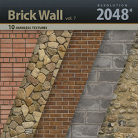 Brick Wall Textures vol.7