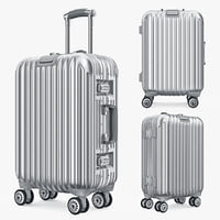 bag luggage travel kingtrip obj