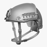 atx helmet mode 3d model