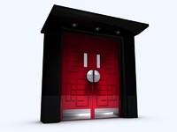 Apollo Art Deco Door Set