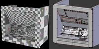 atm bancomat cash point 3d model