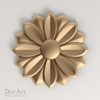 carved rosette cnc max
