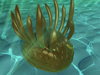 3d model of wiwaxia prehistoric cambrian