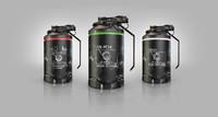 3d model sci fi grenades