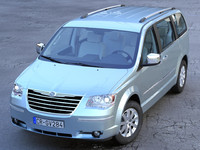 chrysler grand voyager 3d max