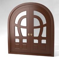 3d model door interior exterior
