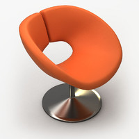 contemporary chair 3ds