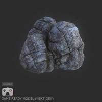 rock 2 3d max