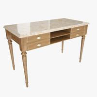 table corona blanc simon