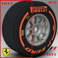 3d pirelli tyre