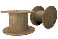 industrial cable reel 3d max