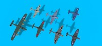 ww ii airplanes 3d 3ds