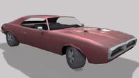 3d 3ds pontiac firebird