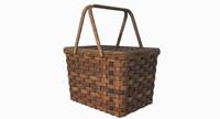 3d model picnic basket