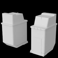 3ds max inkjet cartridge easily uv