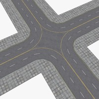 3ds max streets highways construction kit