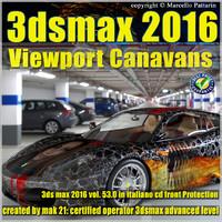 053_3dsmax 2016 Viewport Canavans V53 Italiano Cd Front