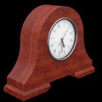 fireside clock easily uv 3d max