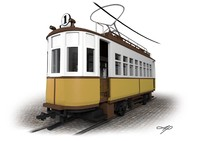 old tram max