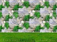 Stone wall 114