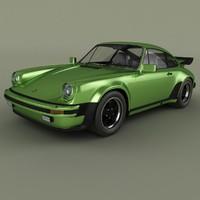 porsche 911 turbo 3d max