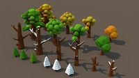cinema4d tree pack