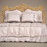 jumbo bed her-02 3d max