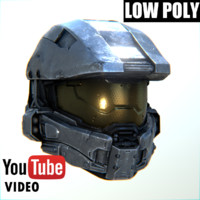 3ds master chief helmet