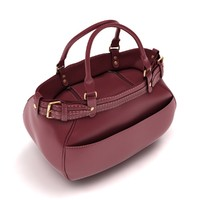 3d model ladies hand bag