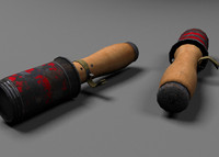 ww2 specular normal 3d model