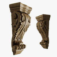 3d model corbel kitchen