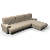 fabric couch 3d max