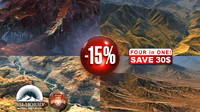 3d mountains landscapes discount