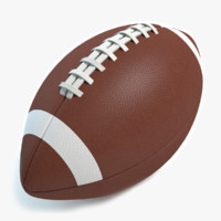 football ball 3d obj