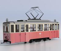 3d model konstal n1 tram