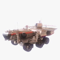 space rover explore 3d model