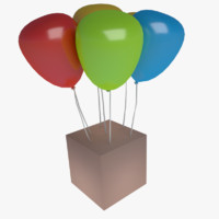 3ds max balloons
