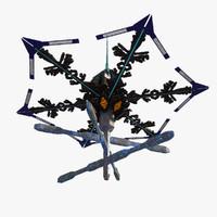 3d model alien space