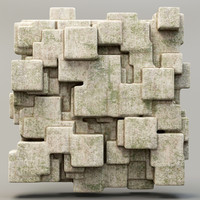 3ds max stone