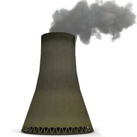 cooling tower 3d model