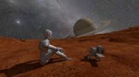 3d scenario robot stars