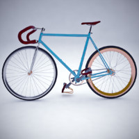 3d vintage fixed gear