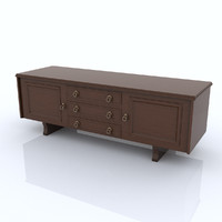 3d shelf organized model